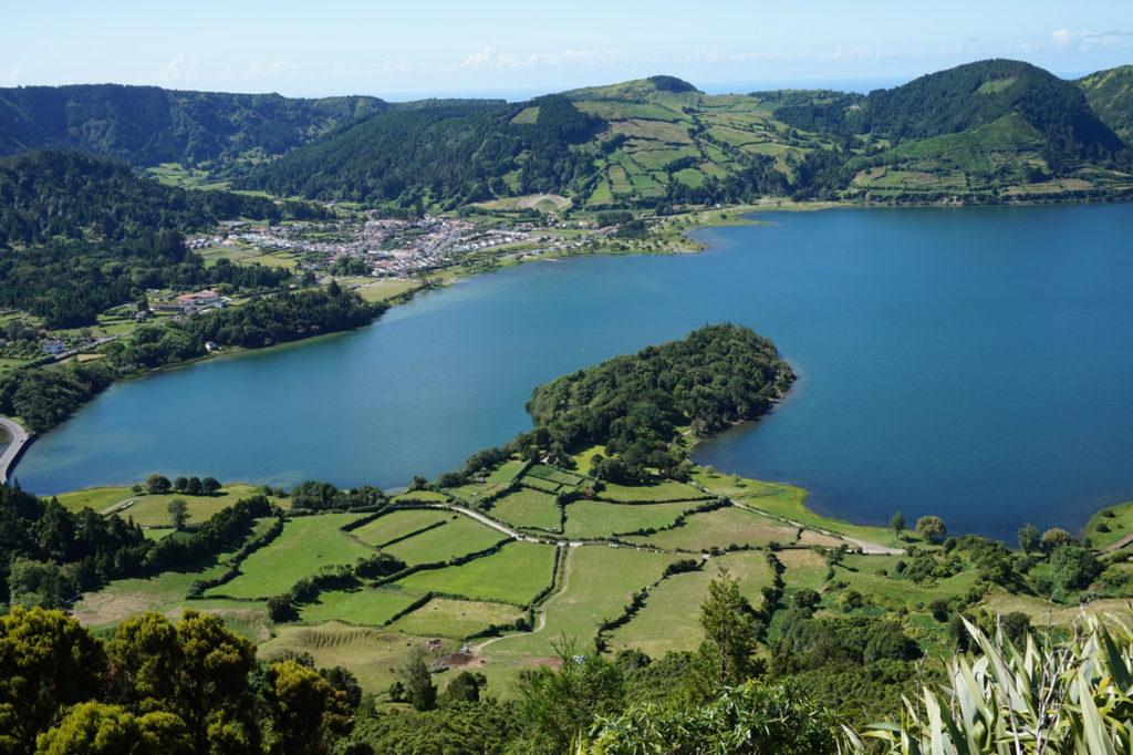 sete cidades in sao miguel, portugal