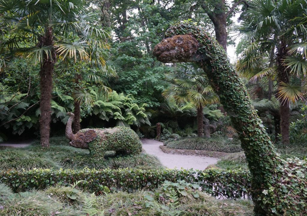 terra nostra park in sao miguel, azores