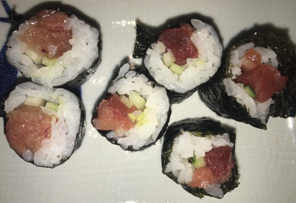sushi restaurant italy